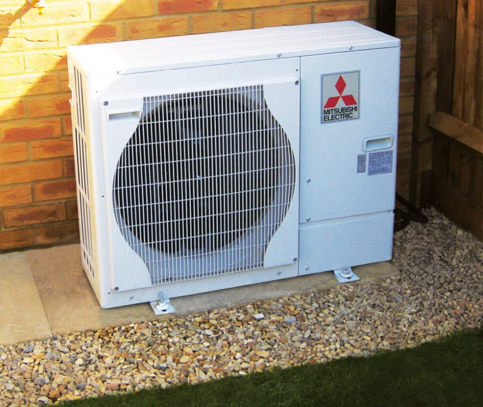 Mitsubishi Electrics Ecodan Heat Source Pump